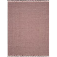 Charlton Home Parthena Hand-Woven Red Area Rug Rug Size: 6' x 9'