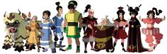 The Ember Island Players (from ATLA art book)