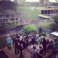 Hangin' out at the Klout Krib! #kloutsxsw via @kylelacy