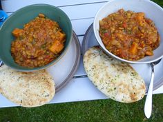 Sweet potato and lentil curry Lentil Curry, Suppers, Happy Campers, Lentils, Sweet Potato, Potatoes, Yummy Food, Simple, Ethnic Recipes