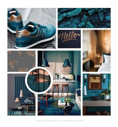Examples of well-styled mood boards. Yes, mood boards are good for any designer's health. Your creative health that is, considering that it can give you the kind of inspiration