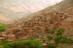 paysage du Maroc, Atlas , sud Marocain