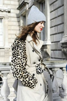 The Best Street Style at London Fashion Week - The Most Standout Street Style at London Fashion Week Fall 2014 - StyleBistro