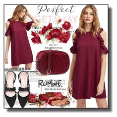 """""""//Romwe(summer style)set 4.//"""" by fahirade ❤ liked on Polyvore featuring GUESS and Envi:"""