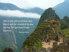 Join the Machu Picchu Spiritual Yoga Retreat in April https://youtu.be/MX0tS2pj65s