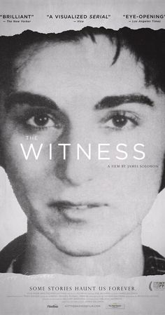 Fascinating, disturbing but brilliant. The name 'Kitty Genovese' became synonymous with apathy after news that she was stabbed to death while 38 witnesses did nothing. Fifty years later, her brother uncovers a lie that transformed his life, condemned a city and defined an era.