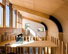 curved plywood ceiling - Google Search                              …