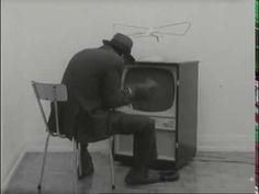 Joseph Beuys «Felt TV: Shown in TV broadcast 'Identifications' Beuys Joseph, Fluxus Art, Artistic Installation, Boxing Gloves, Art Projects, Sculptures, Art Pieces, Shit Happens, Tv
