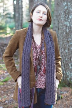 cobbleway scarf by angela tong for scarves, etc. 5 / in quince & co. lark