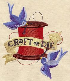 Craft or Die   Urban Threads: Unique and Awesome Embroidery Designs