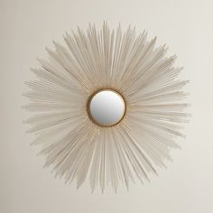 Found it at Wayfair - Axton Sunburst Mirror