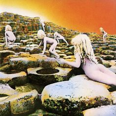 Led Zeppelin - Houses of the Holy, design de capa Storm Thorgerson e Aubrey Powell