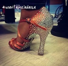 Latin dance shoe