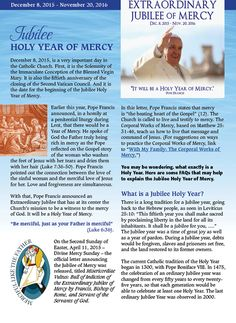 Jubilee Year of Mercy | RCL Benziger