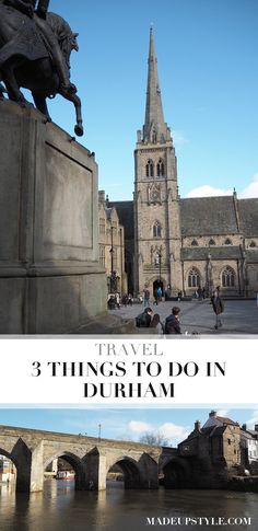 3 Things to do in Durham, England Durham England, St Johns College, West Midlands, City Break, Weekend Trips, Places Ive Been, Travel Guide, Things To Do, Europe