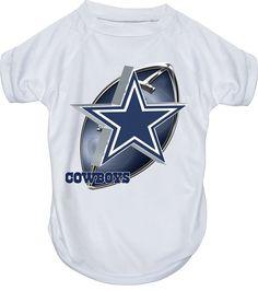 Hunter MFG Dallas Cowboys Performance T-Shirt, Large ** Unbelievable dog item right here! : Dog shirts
