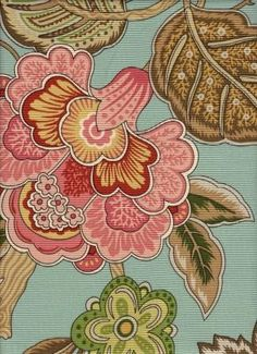 I am a sucker for bold jacobean florals like this