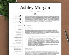 Professional Resume Template for Word & Pages by TheTemplateStudio