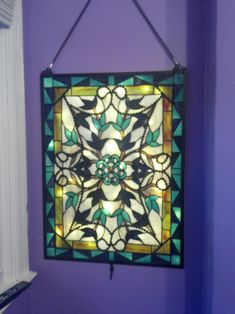 Stained Glass Window Designs | Different use for LEDs - Light Box for Stained Glass window