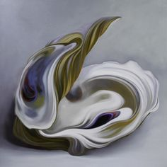 """""""Morning Mist"""" by Carlos Lopez Oil on Panel  36 x 36 inches @ Gallery Orange"""