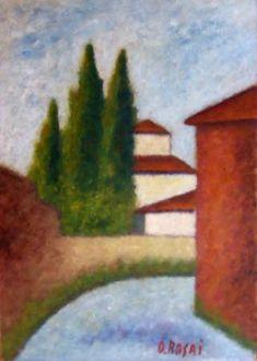 Ottone Rosai  Via san Leonardo (Firenze)