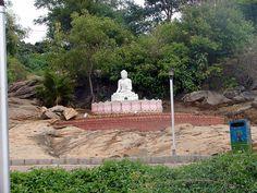 Buddha Statue at Art of Living Ashram Bangalore