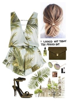 """#473"" by mildabas ❤ liked on Polyvore featuring GUESS, River Island, Measurable Difference, J.Lindeberg, Alexander Wang, Pier 1 Imports, Stila and Marc Jacobs"