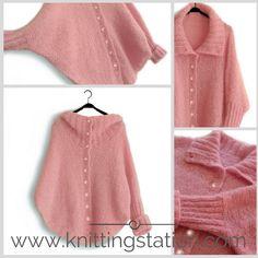 Knitting Pattern Knitting Patterns, Cardigans, Tops, Women, Fashion, Knitting Stitches, Knit Patterns, Women's, Fashion Styles