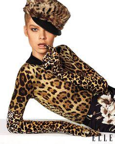 NUNCA ANIMAL PRINTS  ...Y MENOS CON MÁS ANIMAL PRINTS  ( Aunque me guste mucho los diseños de Dolce & Gabbana ...TOO MUCH !!!)