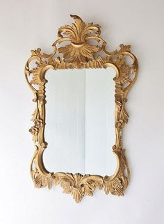 Large Gilt Frame Mirror