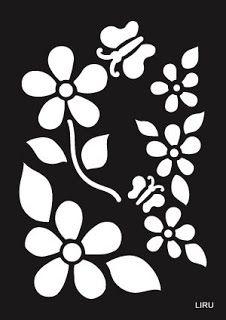 Stencil para manualidades ~ cositasconmesh