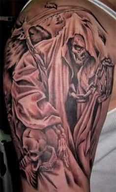 1000 images about my shit on pinterest evil tattoos grim reaper tattoo and for men. Black Bedroom Furniture Sets. Home Design Ideas