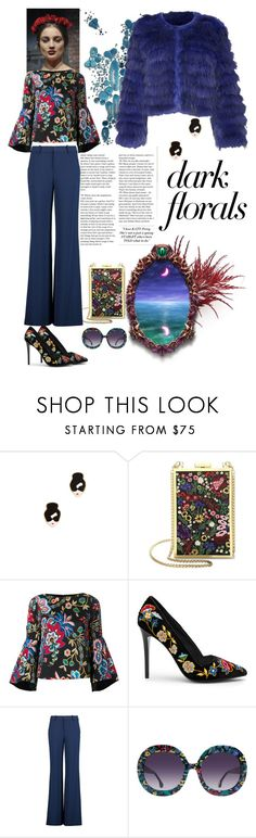 """""""Alice+Olivia"""" by nefertiti1373 ❤ liked on Polyvore featuring Rob Wynne and Alice + Olivia"""