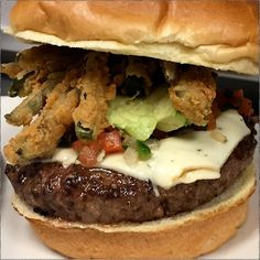 CONRAD'S -  Tonight! Bison Burger w/ pico, avocado & fried jalapeno or Roasted Tomato Cream Pasta #RealFoodGoodBeer #NewBeer