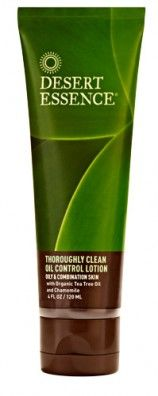 Thoroughly Clean Oil Control Lotion by Desert Essence. Definitely adding this to my natural skincare arsenal