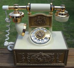 French Style Phone by Luv2Junk on Etsy, $28.75