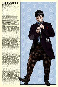 in honor of the coming page of Rassilon the Resurrected, I have made some additional improvements to the Time Lord Handbook images. Time Lord Handbook Page 2 Doctor Who Poster, Doctor Who Art, Doctor Who Quotes, 4th Doctor, Second Doctor, Eleventh Doctor, Matt Smith Doctor Who, Classic Tv, Classic Series