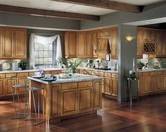kitchen color schemes maple cabinets on cherry kitchen cabinets kitchen building