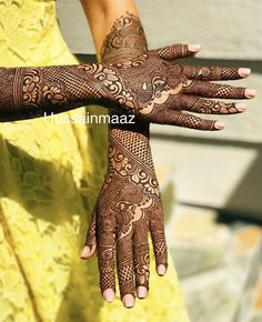 Bridal Henna Dubai 19 Ideas For 2019 Engagement Mehndi Designs, Unique Mehndi Designs, Wedding Mehndi Designs, Dulhan Mehndi Designs, Beautiful Mehndi Design, Arabic Mehndi Designs, Latest Mehndi Designs, Mehndi Designs For Hands, Henna Mehndi