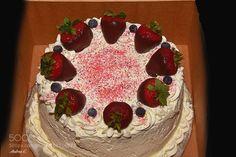 Pic: 4th of July strawberry shortcake