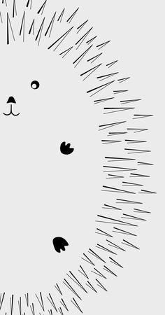 Scandinavian Kids Print, Black and White Woodland Wall Art, Forest Poster, Kids Decor, Nursery Print Nursery Prints, Nursery Wall Art, Girl Nursery, White Nursery, Scandinavian Kids, Baby Posters, Baby Wallpaper, Kids Wall Decor, Animal Decor