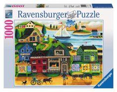 Ravensburger - Village Harbor Jigsaw Puzzle - 1000 pc