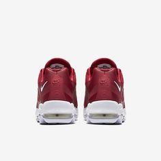 4b4a72c2fd3bd6 Chaussure Nike Air Max 95 Pas Cher Homme Ultra Essential Rouge Sportif  Blanc Blanc