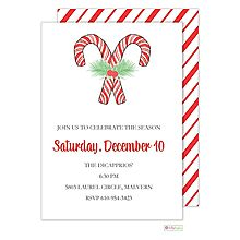 Ornament / Gift Exchange Christmas Party Invitations 2016