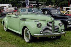 1940 Buick Super convertible coupe authorbryanblake.blogspot.com.