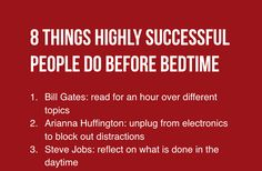 Successful People's Battlefields Are Not Confined To Their Offices, But Also Their Bedrooms (Tech Office Life Hacks)