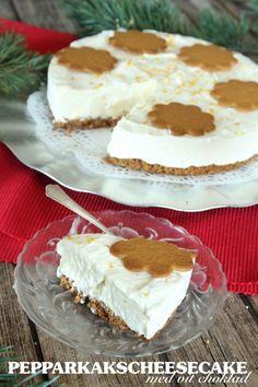 Pepparkakscheesecake med vit choklad | Tidningen Hembakat