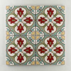 The Mediterranean Handpainted Collection: Barella in the Warm Motif. Inspired by the sunny seaside bliss of the Spanish 'Costa Dorada', Barella is another Mediterranean masterpiece ready to lend authenticity to any project. Available in a 8x8 size. $40/piece.