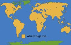 Picture of pig range map