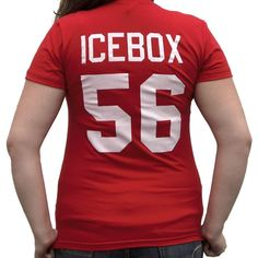 Becky Icebox O Shea  56 Little Giants Jersey T-Shirt Ice Box Costume c4046fd3f
